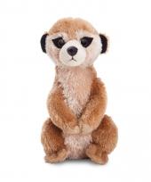 Speelgoed stokstaart knuffel 20 cm