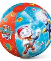 Speelgoed strandbal paw patrol 50 cm