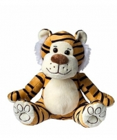 Speelgoed tijger knuffel 23 cm