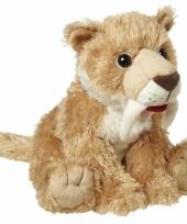 Speelgoed tijger knuffel 24 cm