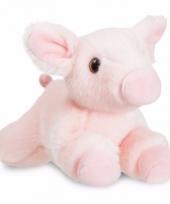 Speelgoed varken big knuffel 28 cm