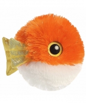 Speelgoed vissen knuffel 20 cm