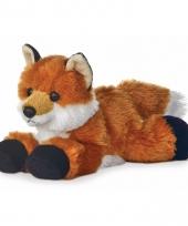 Speelgoed vossen knuffel 20 cm