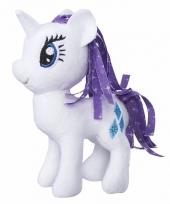 Speelgoed witte my little pony knuffel 13 cm