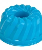Speelgoed zandvorm tulband blauw
