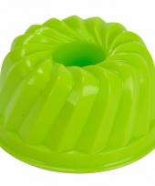 Speelgoed zandvorm tulband groen
