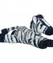 Speelgoed zebra knuffel 30 cm 10085666