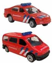 Speelgoedauto brandweer set 112