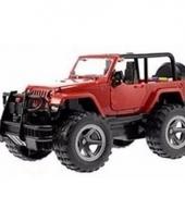 Speelgoedauto jeep wrangler met licht en geluidseffecten 27 5 cm