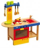 Speelgoedkeuken van hout