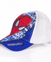 Spiderman cap blauw