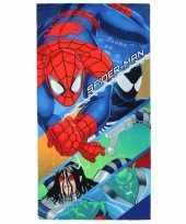 Spiderman handdoek 70 x 140 cm
