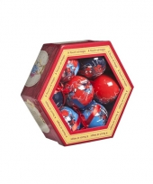 Spiderman kerstballen 7 5 cm 10067982