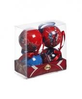 Spiderman kerstballen 7 5 cm