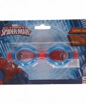 Spiderman kinder zwembril rood 3 tot 12 jaar