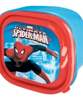 Spiderman lunchtrommel 13 cm
