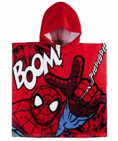 Spiderman zwembadponcho 60 x 120