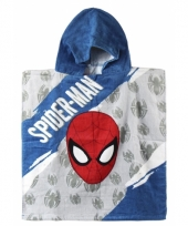 Spiderman zwembadponcho