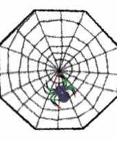 Spinnen horror halloween decoratie 38 x 38 cm