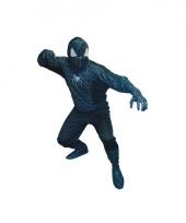 Spinnenheld outfit zwart voor heren