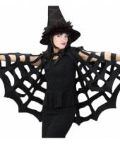 Spinnenweb cape voor heksen