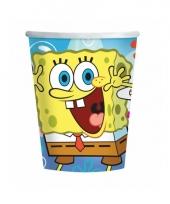 Spongebob bekertjes 8 stuks