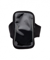 Sport armband mobieltje zwart