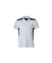 Sportief werk t-shirt wit voor heren