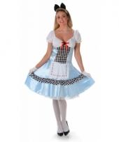 Sprookjes kostuum alice voor dames