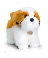 Staande shih tzu honden knuffel pluche 40cm