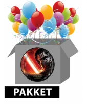 Star wars kinderfeestje pakket