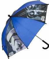 Star wars kleine paraplu met darth vader en stormtrooper voor kids