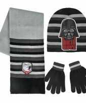 Star wars muts handschoenen en sjaal