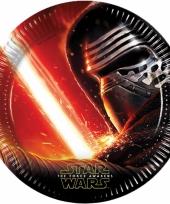 Star wars verjaardag bordjes 8x
