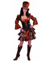 Steampunk dames verkleedkledign
