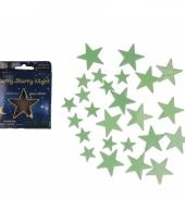 Sterrenhemel sterren glow in the dark 24 stuks