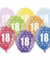 Sterretjes ballonnen 18e verjaardag
