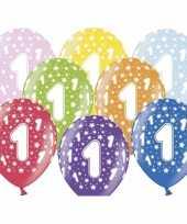 Sterretjes ballonnen 1e verjaardag