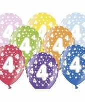 Sterretjes ballonnen 4e verjaardag