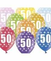 Sterretjes ballonnen 50e verjaardag