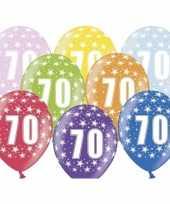 Sterretjes ballonnen 70e verjaardag