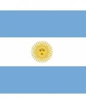 Stickers van de argentijnse vlag