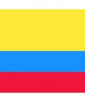 Stickers van de colombiaanse vlag