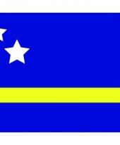 Stickers van de curacao vlag