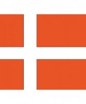 Stickers van de deense vlag