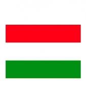 Stickers van de hongaarse vlag