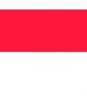 Stickers van de indonesie vlag