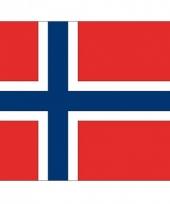 Stickers van de noorse vlag