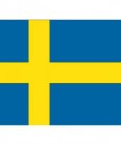 Stickers van de zweedse vlag