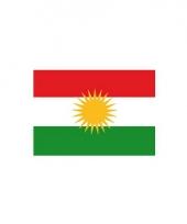 Stickers van koerdistaanse vlag